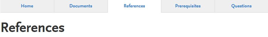 references-subsection